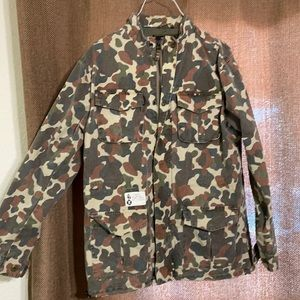 """UNDEFEATED """"Soldier of Fortune""""  camo JACKET."""